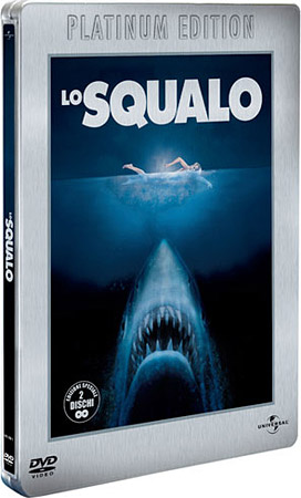 Lo Squalo Platinum Edition Steelbook 2 Dvd Dvd Dvdweb It