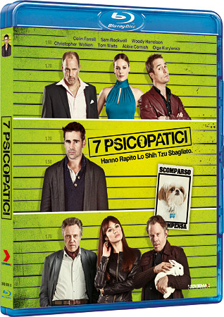 7 psicopatici in 1 Blu-Ray Disc!