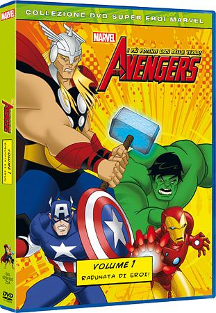 The Avengers: prima del film arriva la serie animata!