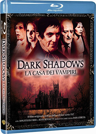 I film classici di Dark Shadows in Blu-Ray!