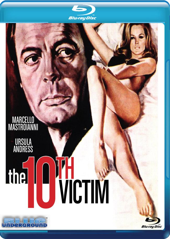 Insperata edizione Blu-Ray per La Decima Vittima