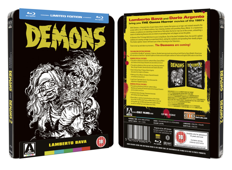 Demoni Collection: steelbook in edizione limitata!