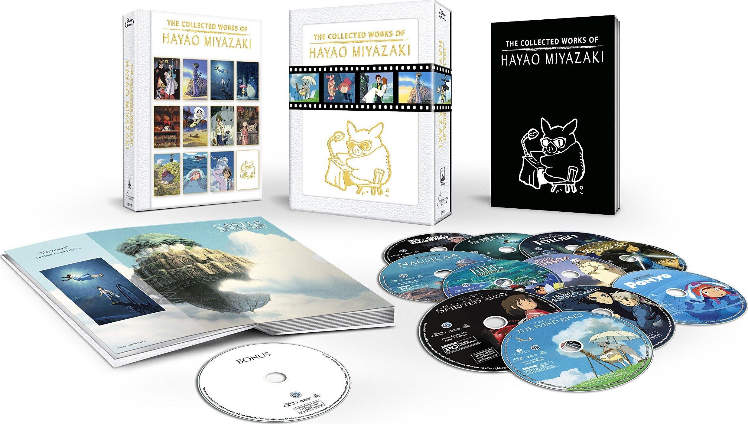 Antologia di Blu-Ray per Miyazaki!