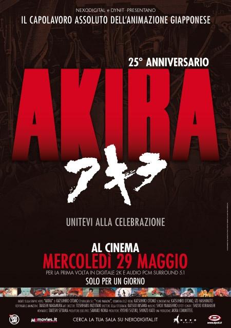 Akira al cinema dopo 25 anni!