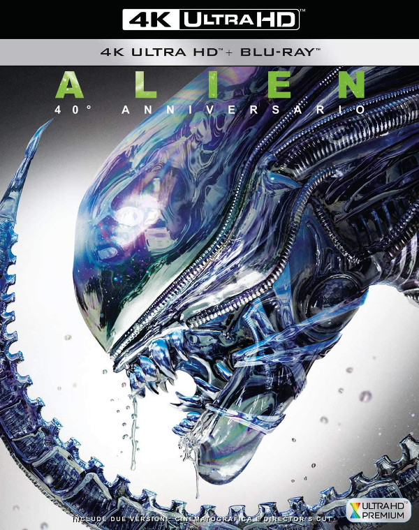 40 anni di Alien in Blu-Ray 4K!