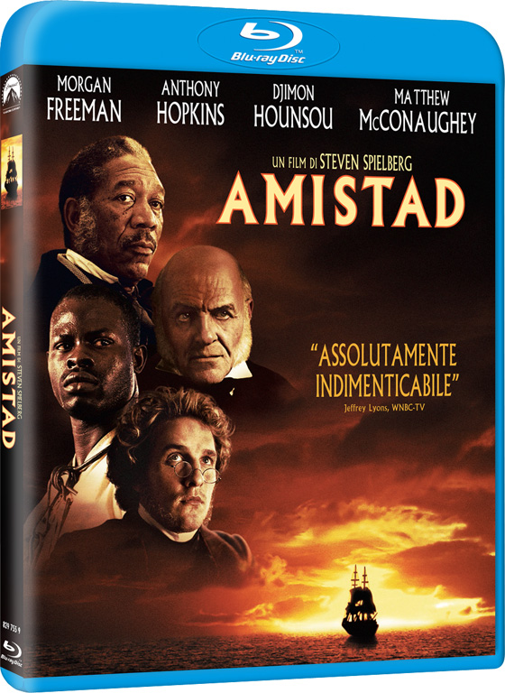 Amistad in Blu-Ray