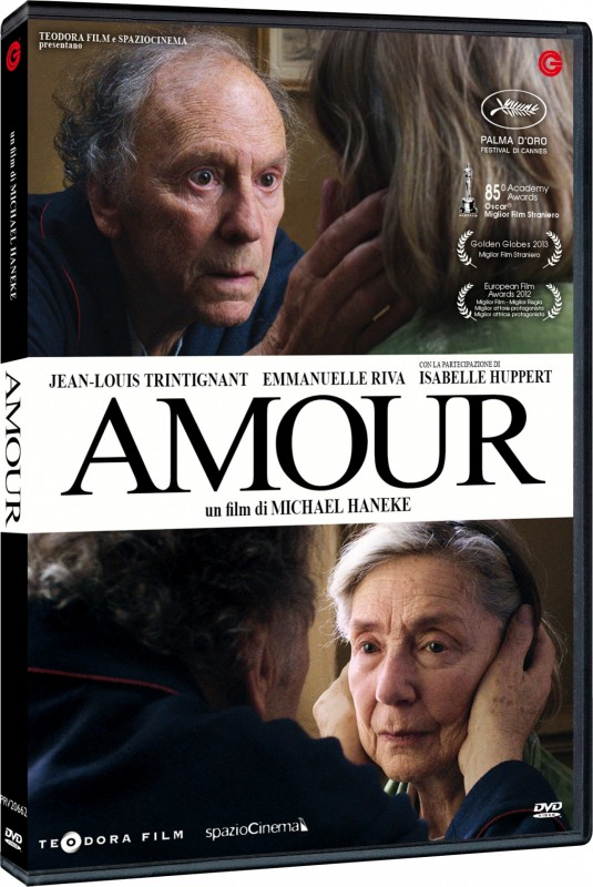 Amour in DVD ad aprile!