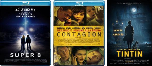 2012 con Super 8, Contagion, Tin Tin...