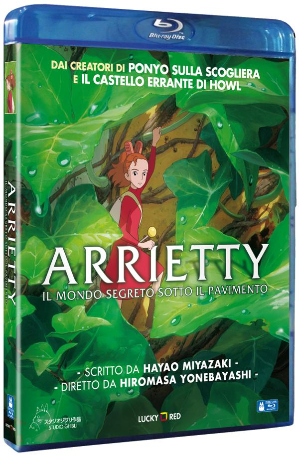 Anteprima Arrietty: le cover di DVD e Blu-Ray!