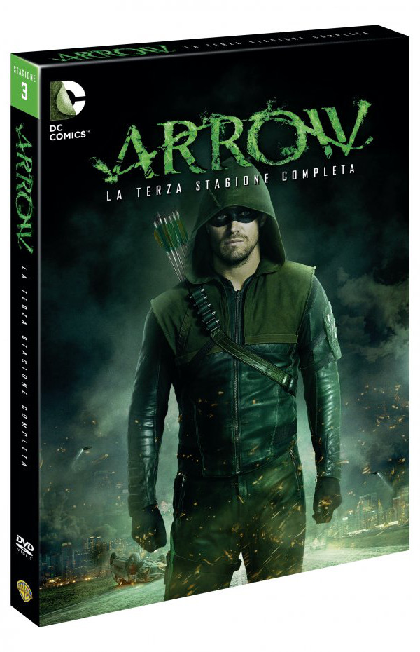 Arrow: disponibile la Stagione 3!