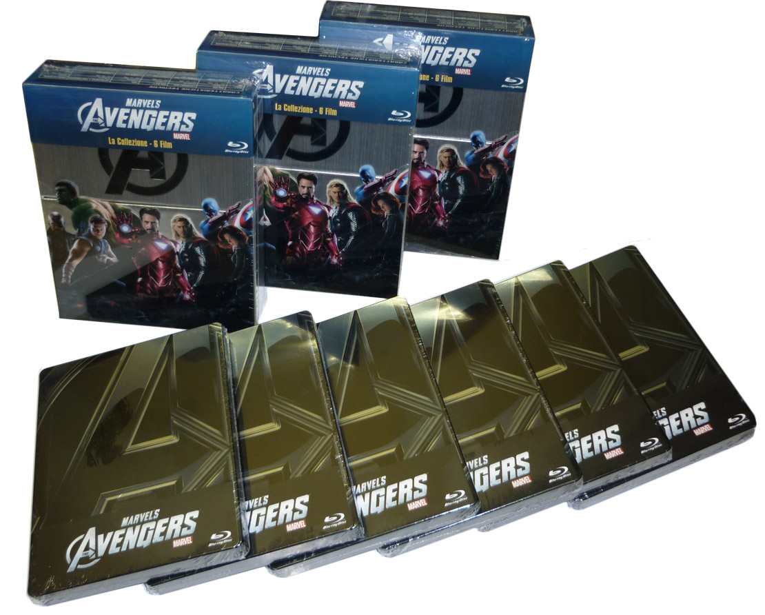 Cronache dal magazzino: collezione The Avengers!