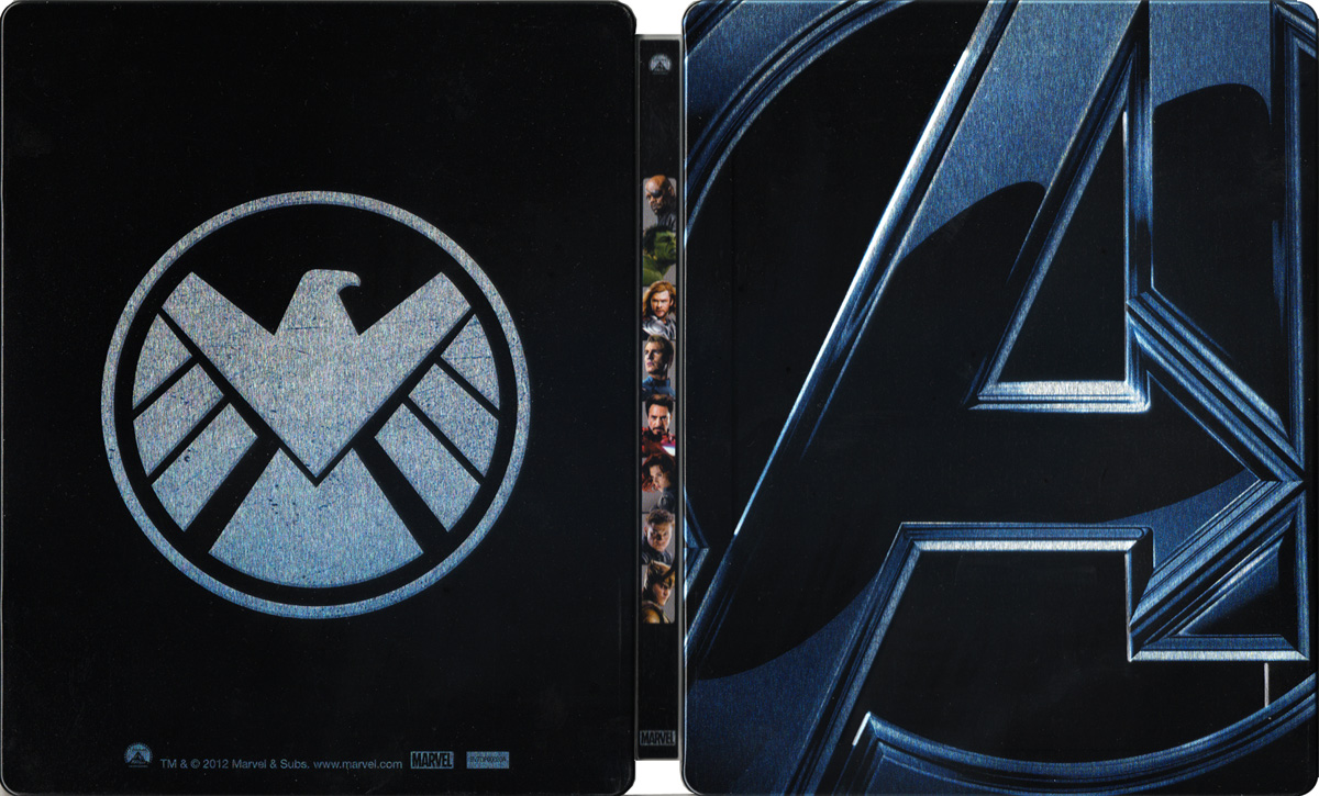 Foto della Steelbook Blu-Ray di The Avengers!