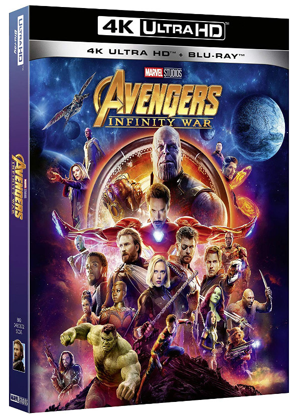 Avengers Infinity War dal 29 Agosto!