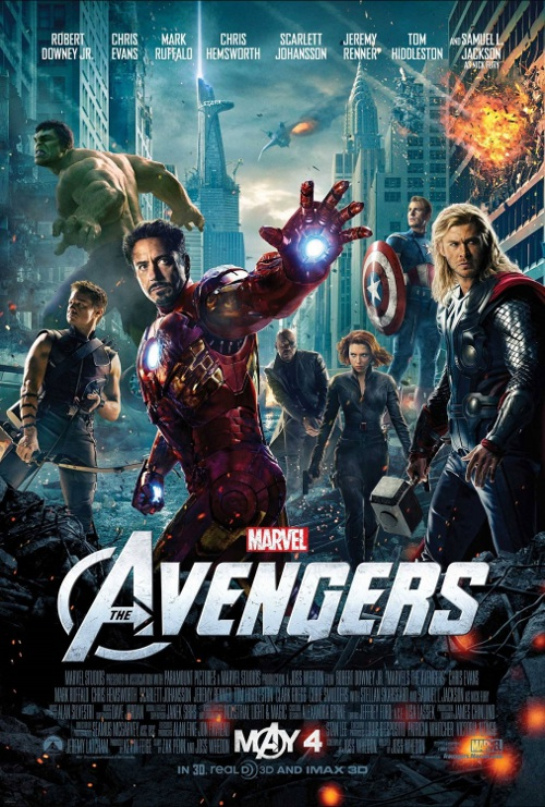 QUADRI DEL CINEMA: The Avengers