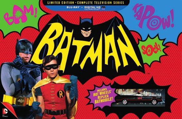 Nuovi dettagli sul cofanetto del Batman televisivo!