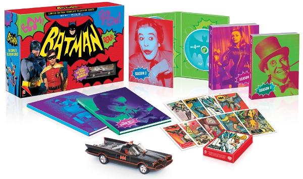 Ecco il cofanetto di Batman serie tv!
