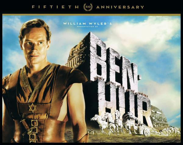 Il restauro e i contenuti di Ben-Hur in Blu-Ray!