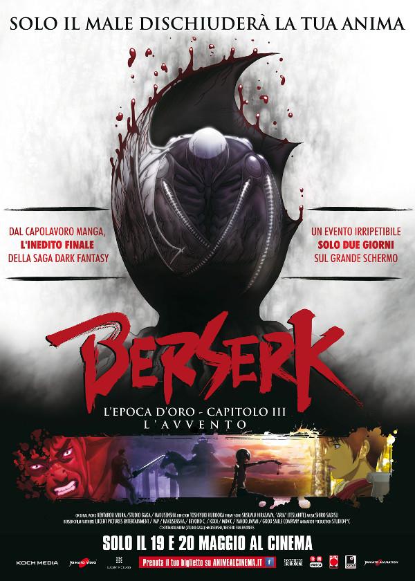 Anime di Maggio: il trailer di Berserk 3!