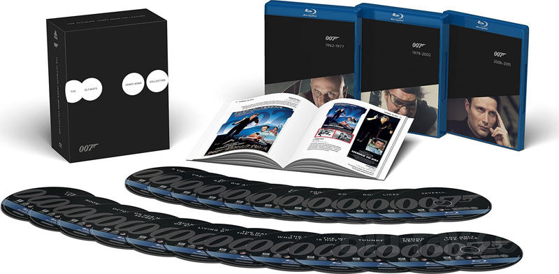 I Blu-Ray di James Bond... ritorneranno!