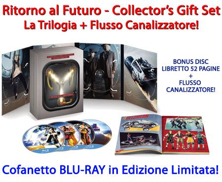 Ritorno al Futuro - Collector's Gift Set - Trilogia Completa + Flusso Canalizzatore,  Edizione Blu-Ray. In vendita su Dvdweb.it