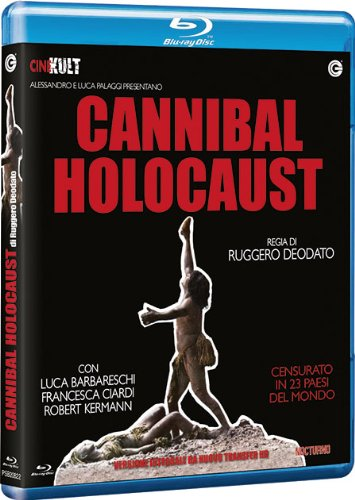 Cannibal Holocaust torna in Blu-Ray!