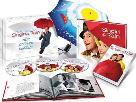 Trattamento extralusso per Cantando sotto la pioggia!