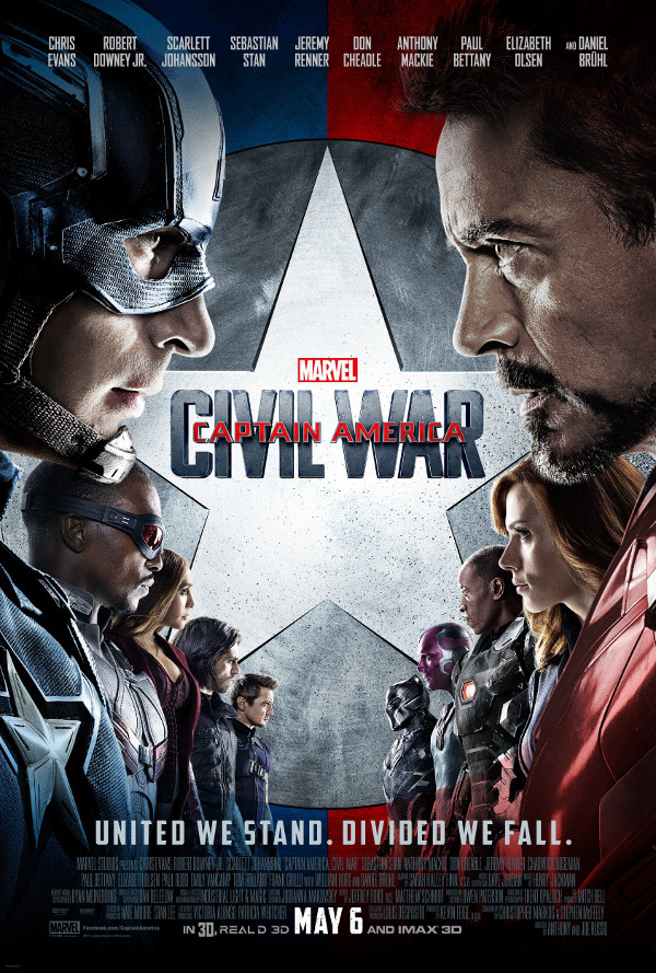 Captain America Civil War: il nuovo trailer!