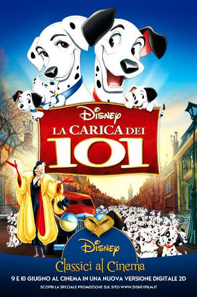 La carica delle edizioni per i Dalmata Disney!