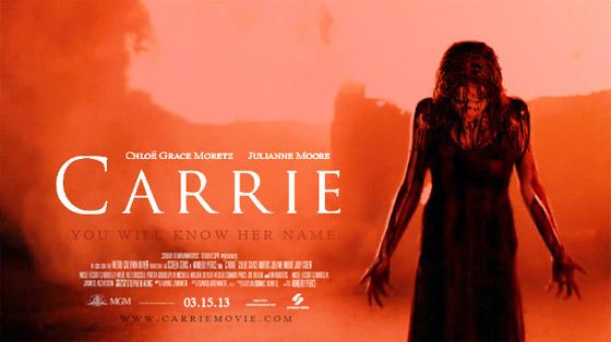 Lo sguardo di Carrie è ancora... satanico!