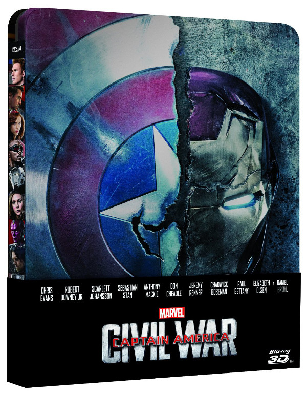 Captain America a catalogo: inizia la Civil War!