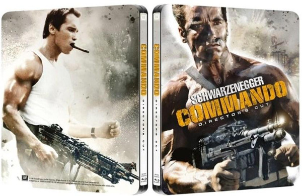 Steelbook Blu-Ray per Commando Director's Cut!