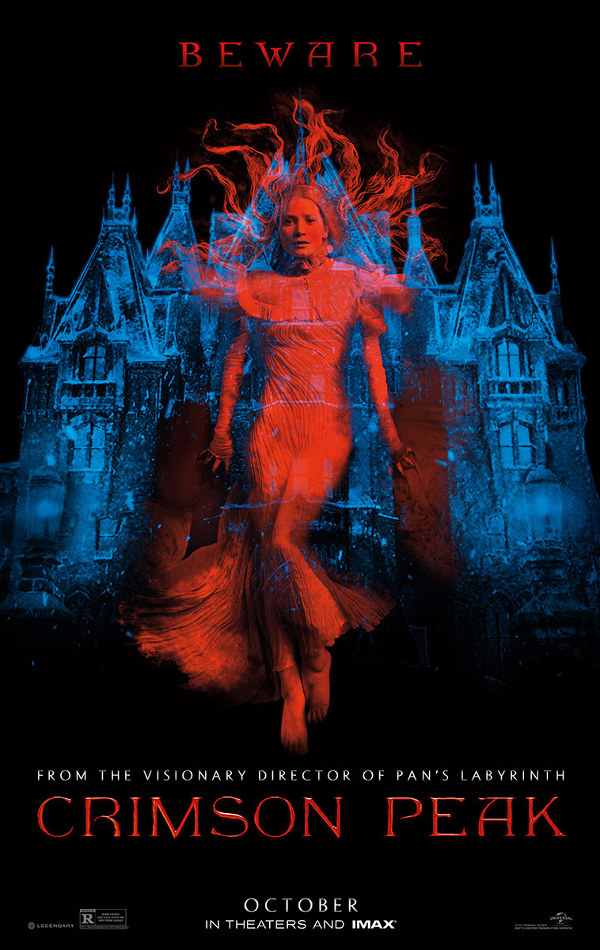 Primo trailer per Crimson Peak!