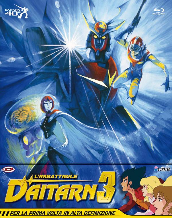 Daitarn 3: un Blu-ray pieno di brio!