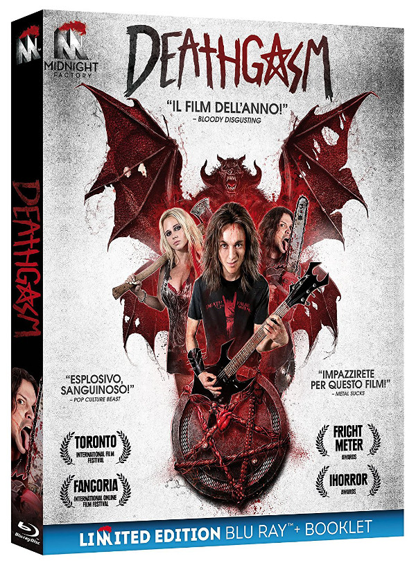 Deathgasm e Bedevil da Midnight Factory!