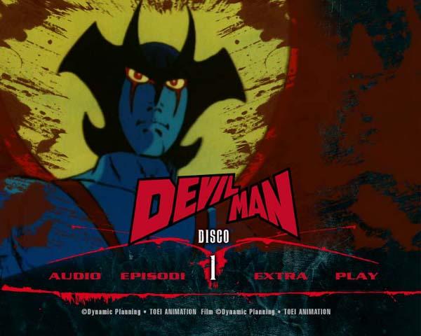 Inarrestabile Devilman: l'anteprima dei menu!