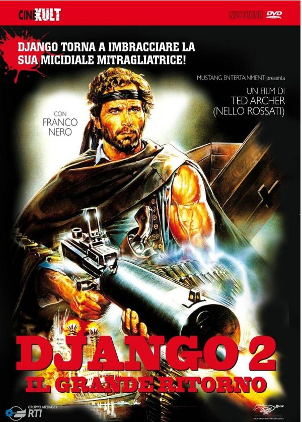 Inarrestabile Django: in DVD anche Il grande ritorno!