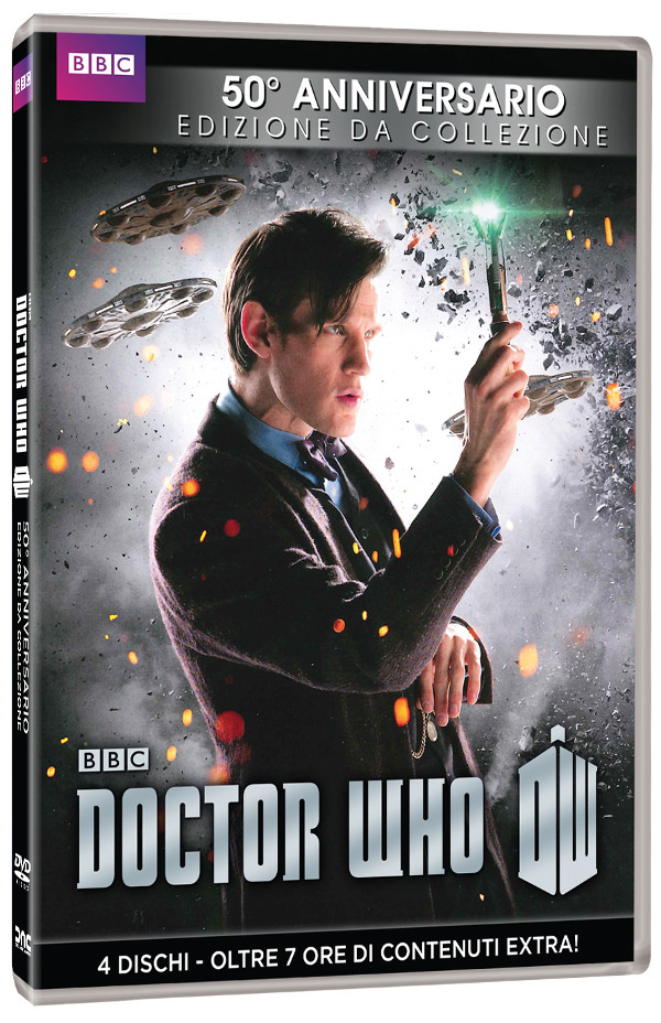 Cover definitiva del cofanetto Doctor Who