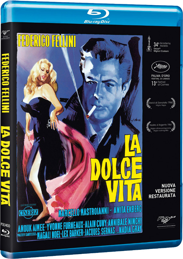 La dolce vita in Blu-Ray restaurato!