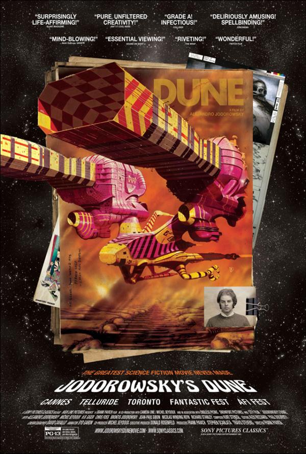 Jodorowsky's Dune nei cinema americani!