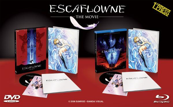 Di nuovo in cielo per il film di Escaflowne