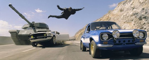 Fast & Furious contro il carro armato!