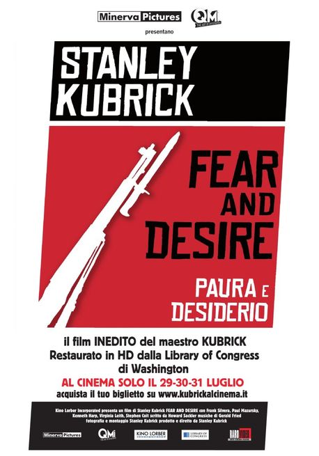 Fear and Desire per la prima volta al cinema!