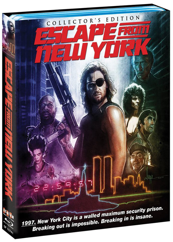 Unboxing del Fuga da New York americano!