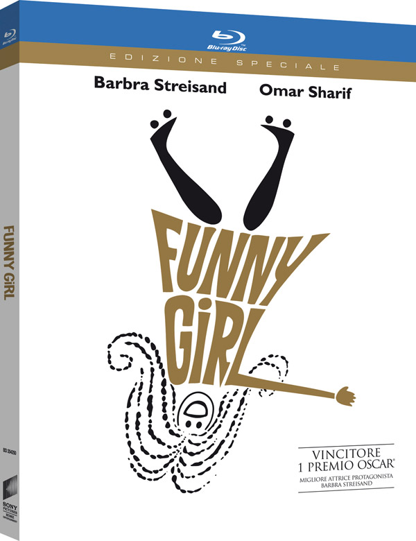 Il Blu-Ray di Funny Girl è mastered 4K!