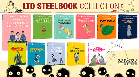 Studio Ghibli - Collezione Steelbook - 11 Nuovi Blu-Ray! Prenotali subito su Dvdweb.it!