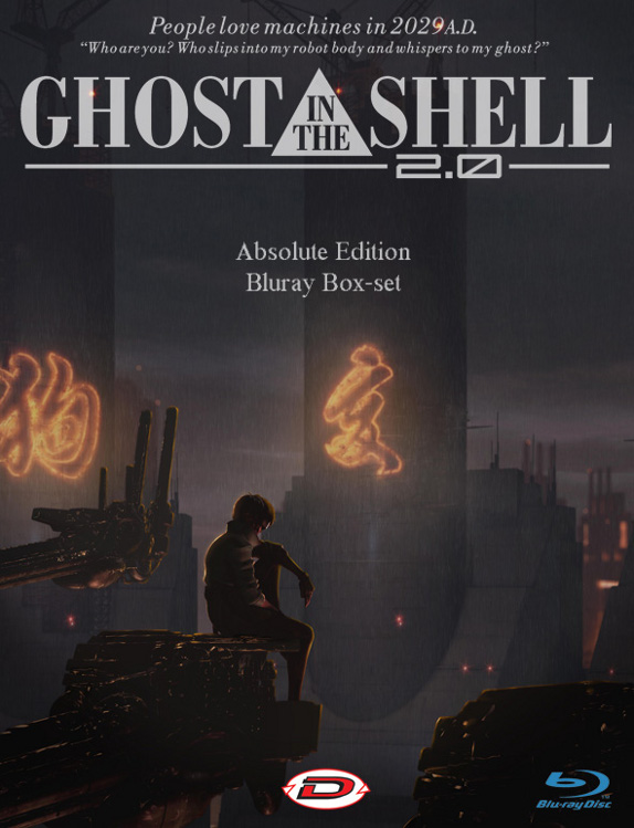 I Ghost in the Shell in Blu-Ray Disc!