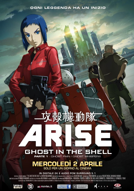 Ghost in the Shell dall'inizio!
