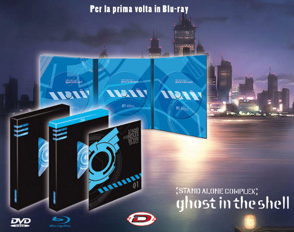 Tutto (ma proprio tutto) Ghost in the Shell in Blu-Ray!