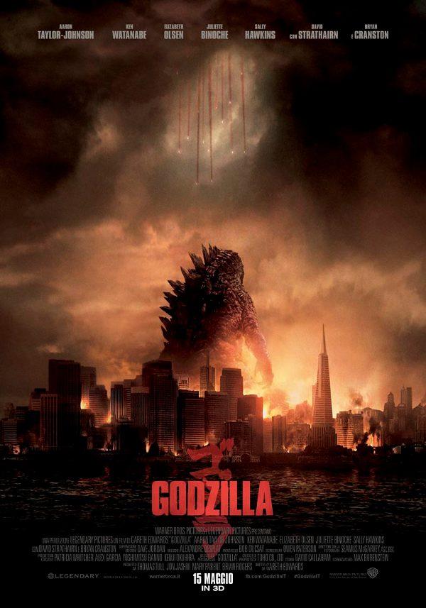 Secondo trailer per Godzilla!