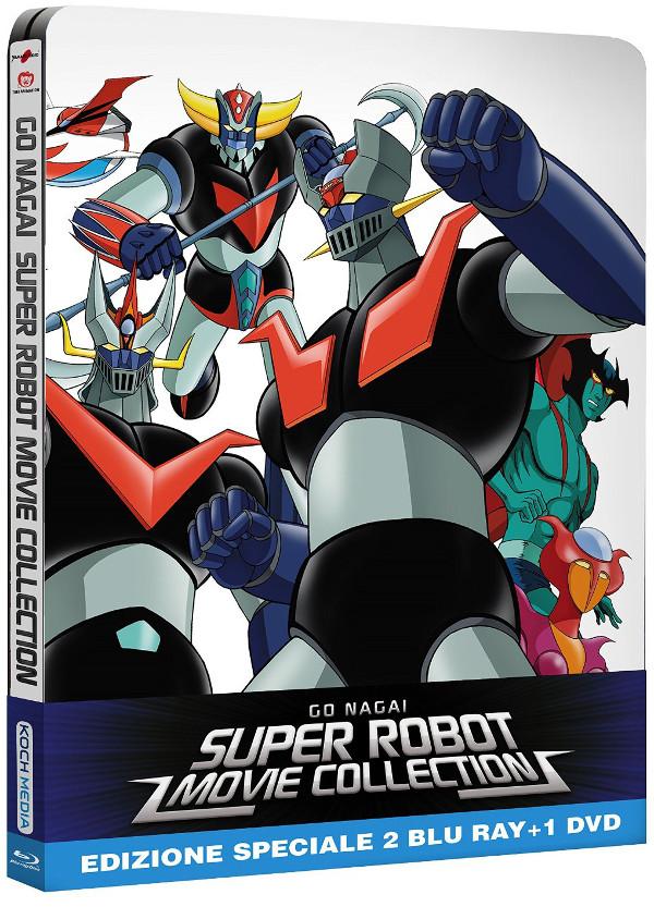 Robot di Go Nagai: cover e contenuti!